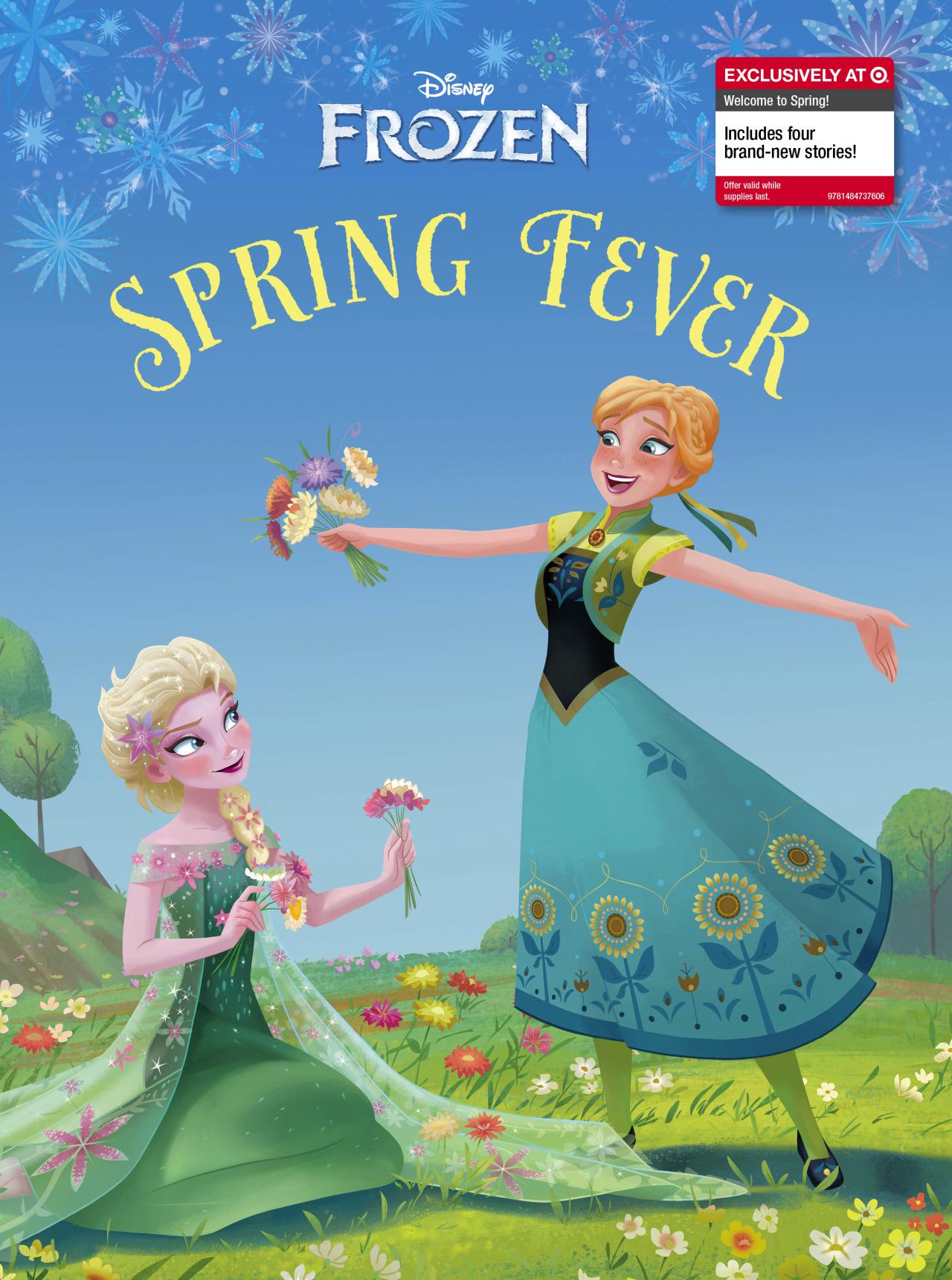La Reine des Neiges Spring Fever storybook