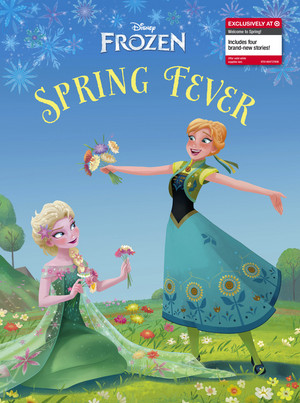 Frozen Spring Fever storybook