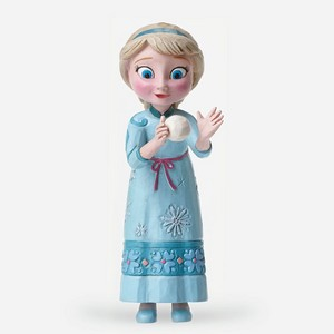 Nữ hoàng băng giá Young Elsa Figurine bởi Jim bờ biển