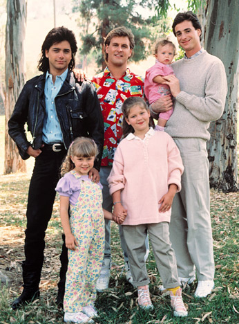 Full House wallpaper probably with a green beret, a well dressed person, and fatigues called Full House