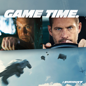 Furious 7 - Dom and Brian