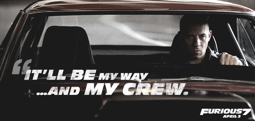 Best Quotable Lines From The Fast And The Furious Movie: Fast And Furious Dom Quotes. QuotesGram