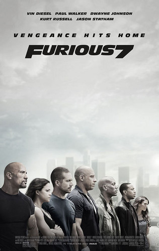 Fast and Furious wallpaper probably with a business suit entitled Furious 7 Poster