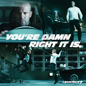 Furious 7 - Shaw and Dom