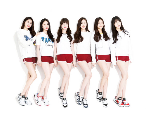 GFriend wallpaper titled GFriend for AKIII Classic Spring 2015