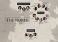 Game of Thrones - Character Locations - game-of-thrones photo