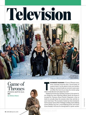 Game of Thrones - EW