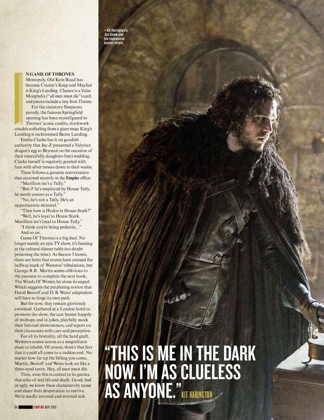 Game of Thrones - Season 5 -Empire