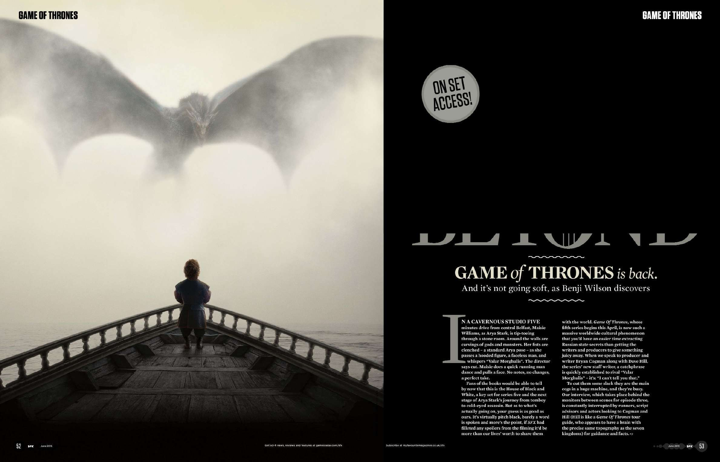 Game of Thrones - Season 5 - SFX