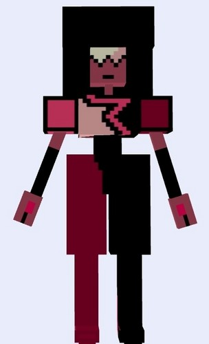 Steven Universe hình nền titled Garnet - Minecraft