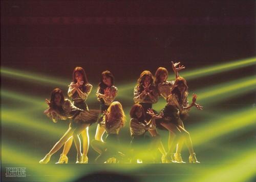 Girl's Generation/SNSD karatasi la kupamba ukuta containing a tamasha entitled Girls Generation The Best Live at Tokyo Dome