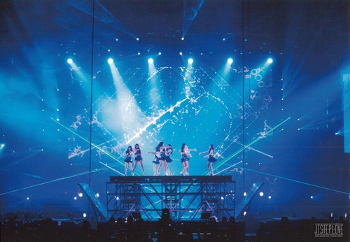 Girls Generation/SNSD wallpaper probably containing a concert titled Girls Generation The Best Live at Tokyo Dome