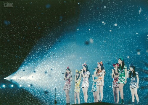 Girl's Generation/SNSD karatasi la kupamba ukuta titled Girls Generation The Best Live at Tokyo Dome