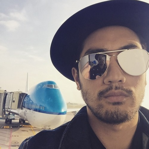 Godfrey Gao 壁纸 probably containing sunglasses titled Godfrey Gao