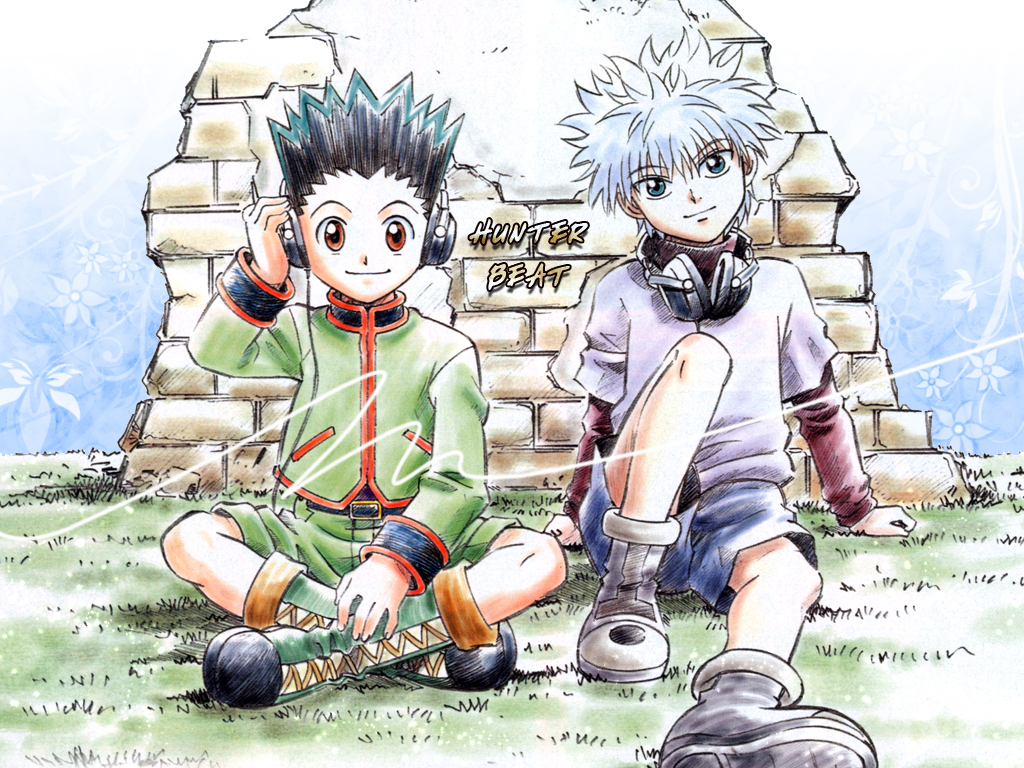 Hunter X Wallpaper With Anime Entitled Gon And Killua