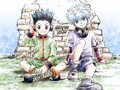 hunter-x-hunter - Gon and Killua wallpaper