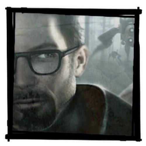 Half Life hình nền possibly containing a ti vi receiver called Gordon Freeman