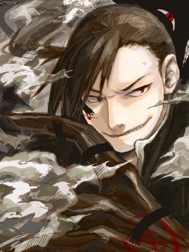 Full Metal Alchemist wallpaper possibly with a green beret called Greed/Ling