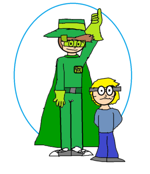 Green Wings Man and leopold 1