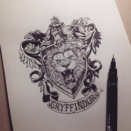 Harry Potter wolpeyper titled Gryffindor