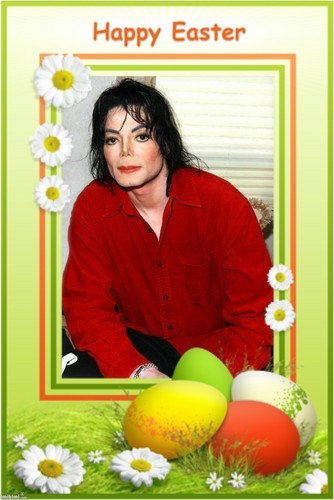 Michael Jackson kertas dinding called HAPPY EASTER,MICHAEL!