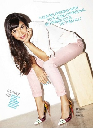 Hannah Simone – Cosmopolitan Magazine (US) April 2015 Issue