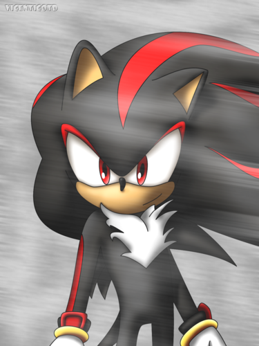 Shadow The Hedgehog wallpaper entitled Happy Schadow^^