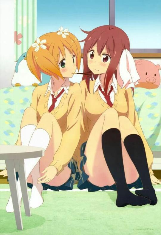 Haruka and Yuu!