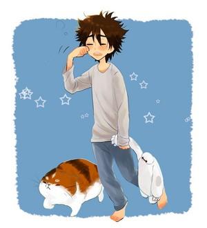 Hiro and Mochi