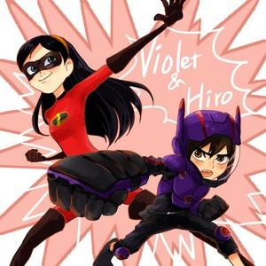 Hiro and màu tím