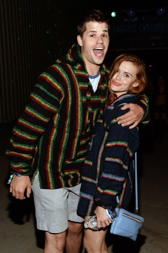 Holland Roden fond d'écran called Holland at the Paper Magazine Presents Neon Carnival (11/04/15)