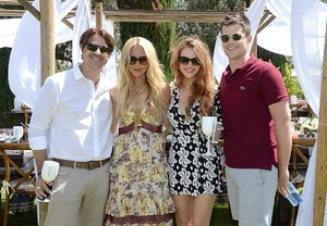 Holland attends Moet Ice Imperial At The Zoe رپورٹ And DVF Brunch, Hosted سے طرف کی Rachel Zoe