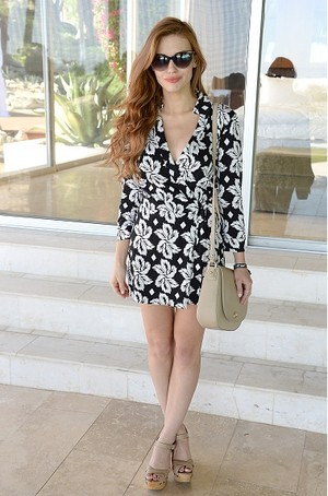 Holland attends Moet Ice Imperial At The Zoe reportar And DVF Brunch, Hosted por Rachel Zoe