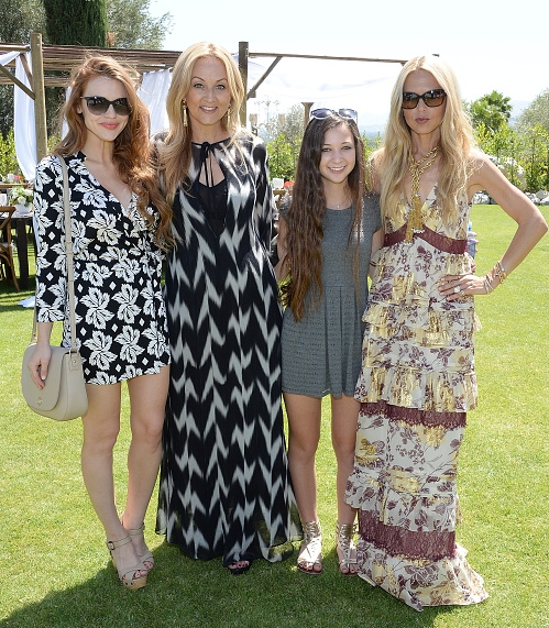 Holland attends Moet Ice Imperial At The Zoe 报道 And DVF Brunch, Hosted 由 Rachel Zoe