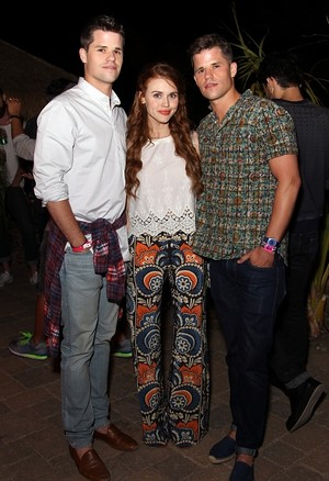 Holland attends NYLON Midnight Garden Party