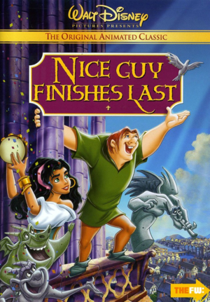 Walt disney Parody Posters - The Hunchback of Notre Dame