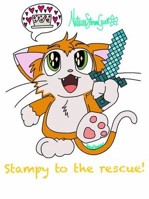 I 心 Stampy Cat