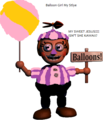 I made Balloon Girl