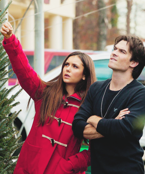 Ian and Nina Dobrev
