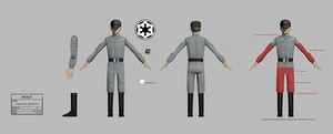 Imperial Uniform Concept Art