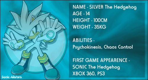 Silver the Hedgehog wallpaper probably containing Anime titled Info on Silver