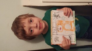 Jakes Stampy Drawing