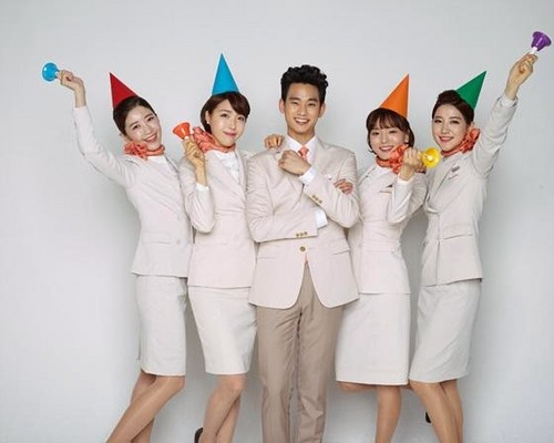 Kim SooHyun wallpaper possibly containing a business suit and a well dressed person entitled Jeju Air releases the promotional pictorial for their newest face, actor Kim Soo Hyun