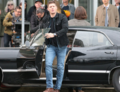 Jensen On Set Of Supernatural - jensen-ackles photo