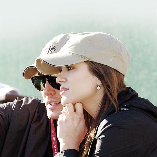 Jensen and Danneel Harris