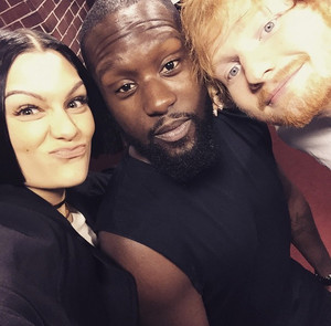 Jessie J and Ed