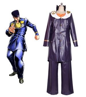 JoJo's Bizarre Adventure Higashikata Josuke Cosplay Costume