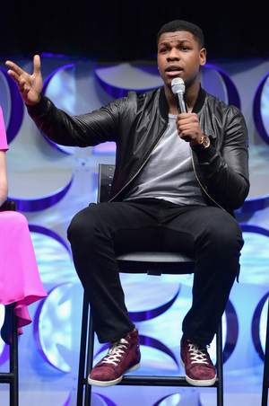 John Boyega at The Star Wars Celebration