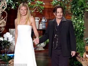 Johnny Depp and Gwenyth