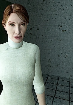 Half Life wallpaper entitled Judith Mossman